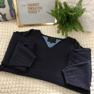 VINTAGE 2000 TOMMY HILFIGER Cable Knit Sweater